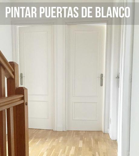PINTAR PUERTAS ANTIGUAS DE BLANCO
