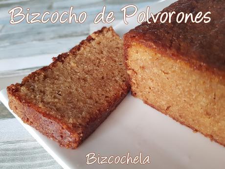 BIZCOCHO DE MANTECADOS O POLVORONES