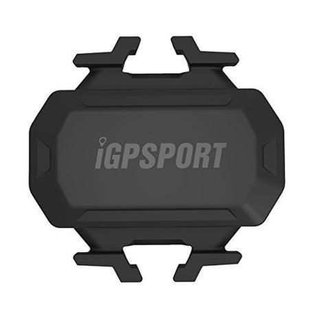 iGPSPORT C61 (versión española) - Sensor de Cadencia inalámbrico ANT+ / 2.4G y Bluetooth 4.0 ciclismo y bicicleta. Compatible con ciclo computadores GPS Garmin, Bryton, Sigma... IPX7. Sin imanes