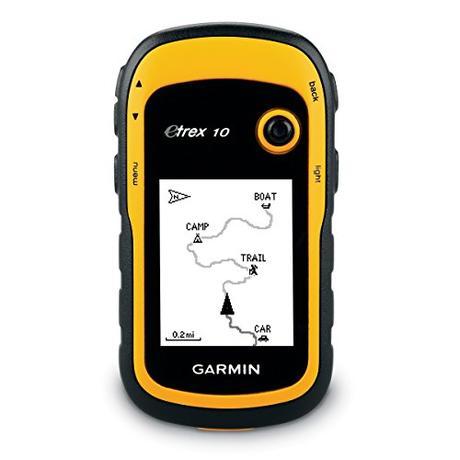 Garmin Etrex 10 - GPS portátil con pantalla transflectiva monocromo de 2,2 pulgadas