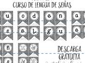 "Guirnalda ""Curso Lengua Señas"""