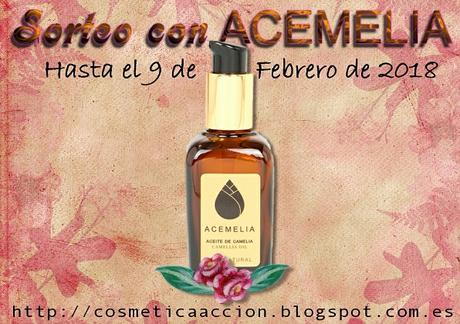¡SORTEO – Aceite de Camelia de Galicia de ACEMELIA!