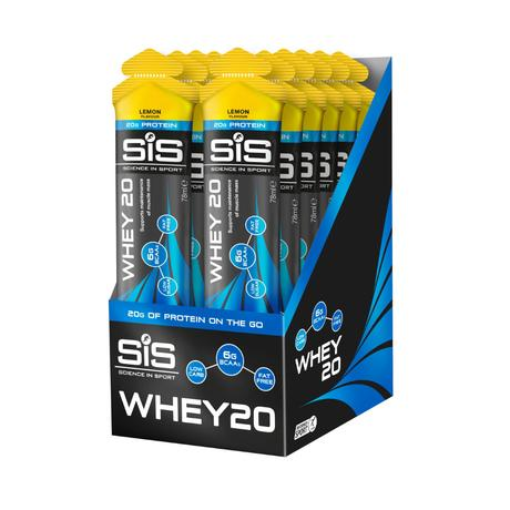 Geles Science in Sport WHEY20 (12 uds.) - Barritas energéticas
