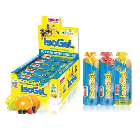 Geles High5 IsoGel (sabores variados, 25 x 60 g) - Geles energéticos