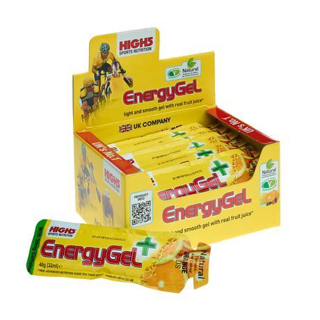 Geles High5 EnergyGel Plus (20 x 38 g) - Geles energéticos