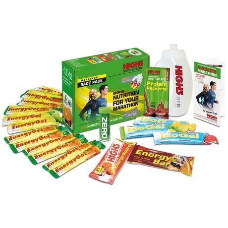 Lote de nutrición para maratón High5 (Fecha de caducidad: 01/01/18) - Geles energéticos