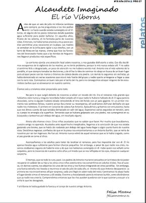 Alcaudete Imaginado: El río Víboras