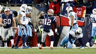 Aplastante dominio de Patriots sobre Titans para avanzar al Juego por el Campeonato de la AFC