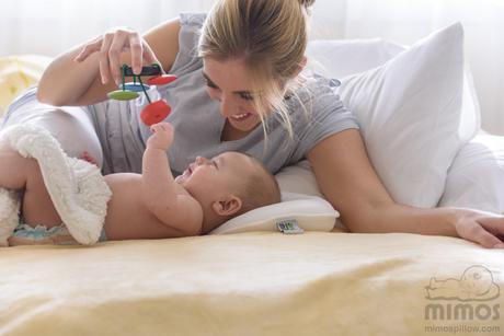Cojín mimos para prevenir la plagiocefalia en el bebé