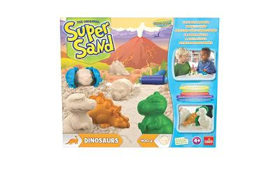Goliath, super sand, manualidades, dinosaurios,