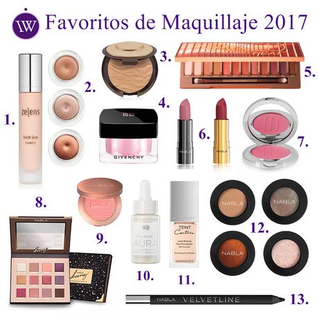 ♥ Mis Productos Favoritos de Maquillaje en 2017