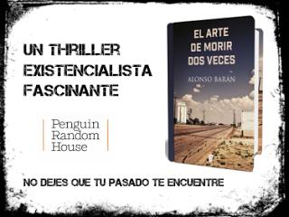 SORTEO EL ARTE DE MORIR DOS VECES DE ALONSO BARÁN