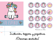 Unicornio adorable, descarga gratuita