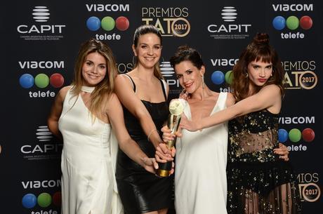 Natalie Pérez, Marcela Kloosterboer, Violeta Urtizberea y Celeste Cid