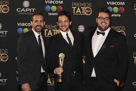 José Chatruc, Germán Paoloski y Darío Barassi