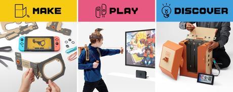 Nintendo Labo una idea DIY para jugar con el Switch