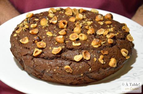 Bizcocho de Crema de Cacao y Avellanas { Nutella o Nocillla}
