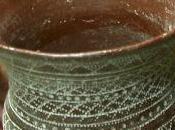 decoración vaso campaniforme arenero Miguel Ruiz, Madrid. Réplicas vasos campaniformes, entrada séptima.
