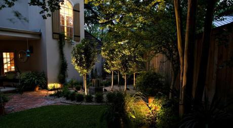 10 Consejos para la decoración de jardines y terrazas con iluminación en LED.
