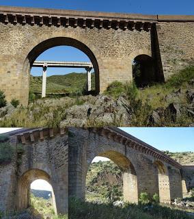 Imagen del mes: Puente Viejo sobre el río Salor, entre los términos de Membrío y Alcántara