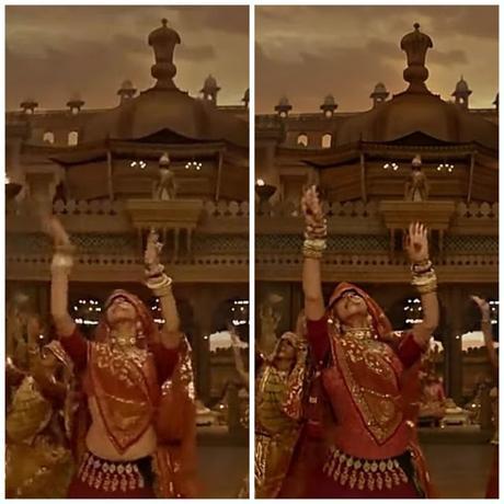 Los cambios en la canción Ghoomar de Padmaavat