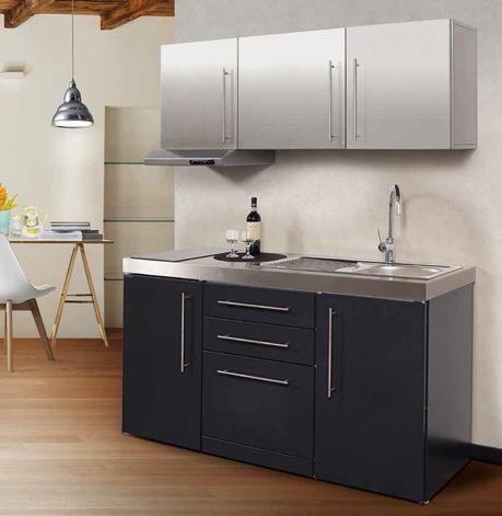 Mini cocinas una soluci n ideal si no te sobra el espacio - Mini cocinas compactas ...