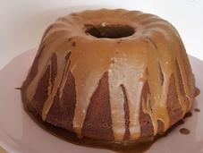 Bundt cake café glaseado cafe