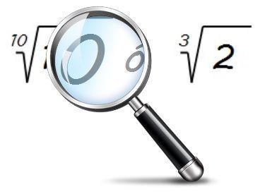 ¿Cuál es mayor? Utilicemos una lupa matemática para raíces.
