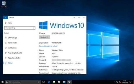 Microsoft lanza preview de Windows 10 Build 17074