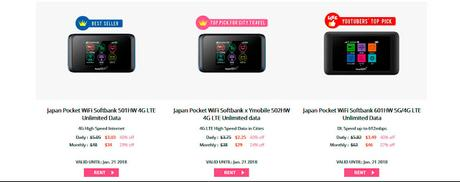 Wifi en vuestro viaje a Japón/日本でポケットWIFI