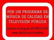«por programa música calidad televisión pública»
