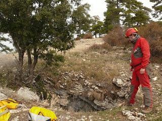 Espeleología en Cazorla