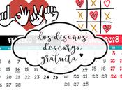 Calendario Febrero, descarga gratuita