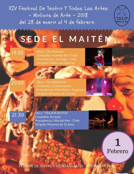 Molinos de Arte, Festival Iberoamericano de Teatro (CHILE)