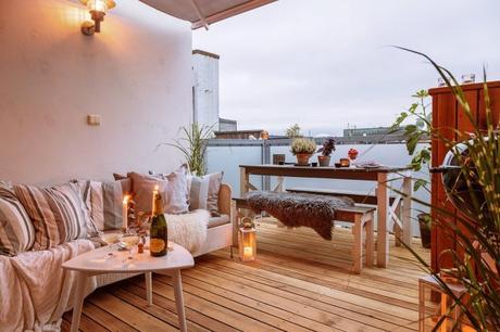 Disfrutar De La Terraza De Casa También En Invierno Paperblog
