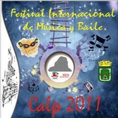 Calpe. XXIX Festival Internacional de Música y Baile Calp 2011