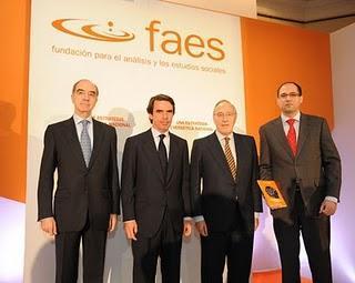 Aznar, nucleares y otras