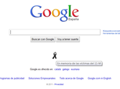 Google todos) seguimos acordándonos víctimas 11-M