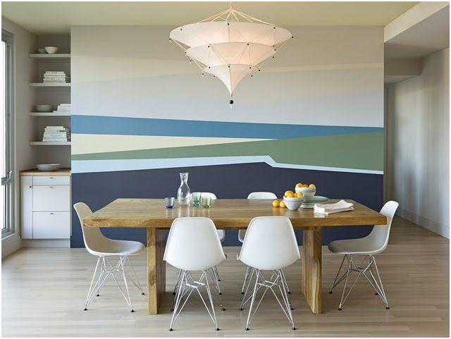 ... de un paisaje de playa, es crear un ambiente sereno, fresco y luminoso