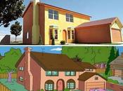 casa Simpsons existe