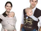 Fular elástico Moby Wrap para cargar bebé