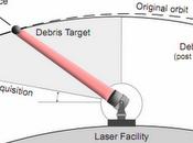 NASA estudia láser para remover basura espacial