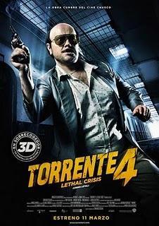 Taquilla España: 'Torrente 4' arrasa en las salas españoles