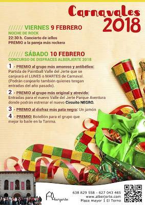 Carnaval 2018 en El Torno. Valle del Jerte.
