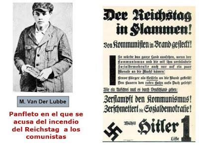 EL NAZISMO EN EL PODER, LA CONSTRUCCIÓN DEL ESTADO TOTALITARIO (II): EL INCENDIO DEL REICHSTAG (27-28 de febrero de 1933), EL SÍMBOLO DE LA DEMOCRACIA