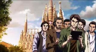 Mazinger Z y Gaudí