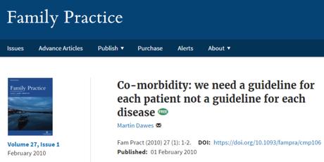 Necesitamos guías adaptadas a nuestros pacientes, no guías para cada enfermedad