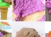 Fácil receta casera para hacer arena mágica kinética antiestrés