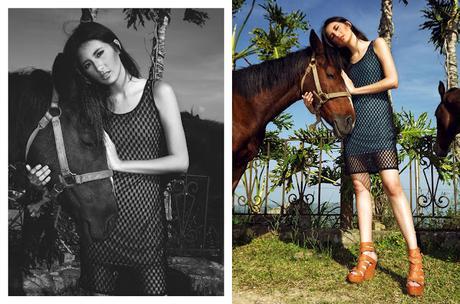 Modalterna. Edición Especial. Promesas de la moda en Venezuela. Valentina de Faria y Feng JiaMei