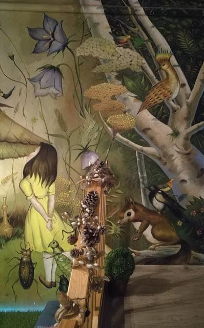 La magia de la pintura de Alberto Pirrongelli en la Bolsa Mágica